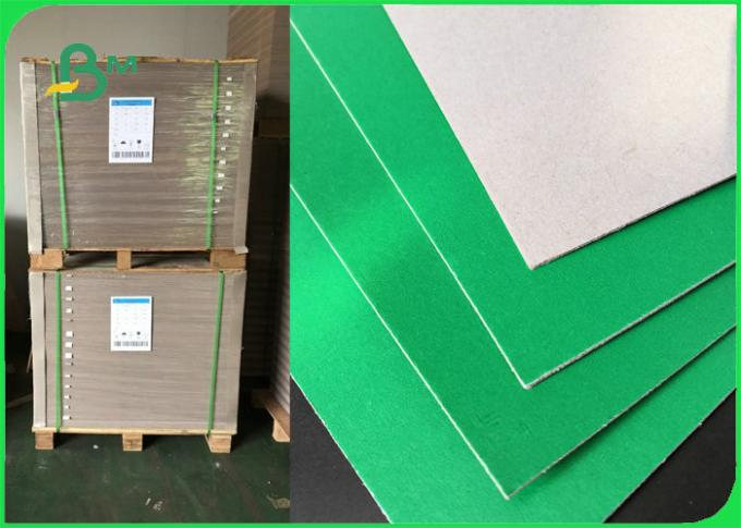 Durable Green Blue Cardboard Sheets For Lever Arch File Folding Resistance FSC