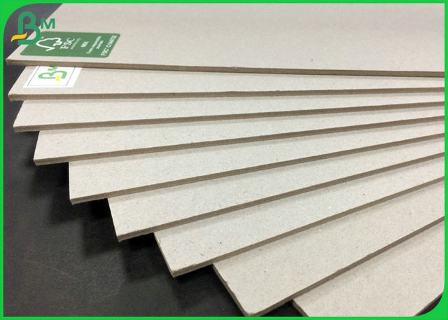 FSC Approved High hardness Grey Chip Board For 1.5mm 2mm 2.5mm
