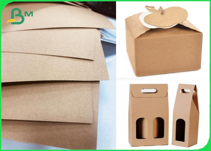 120gsm FSC Natural Pure Kraft paper for Flower Gift Packaging Material