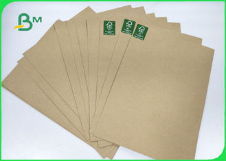 FSC & EU 110 -220gsm Test Liner Board Sheet 70 * 100cm Recycled Pulp Sample Free