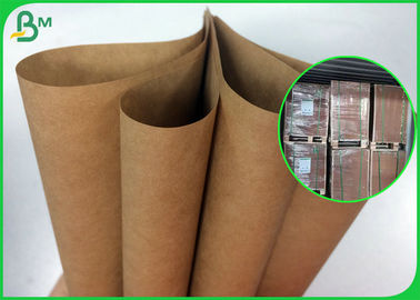80g 90g Kuat Daya Gantung Brown Kraft Paper Roll Untuk Satchel Bag